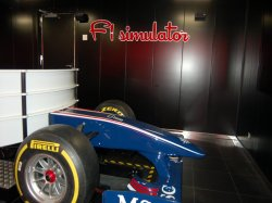 MSC Seaside F1 Simulator Pictures