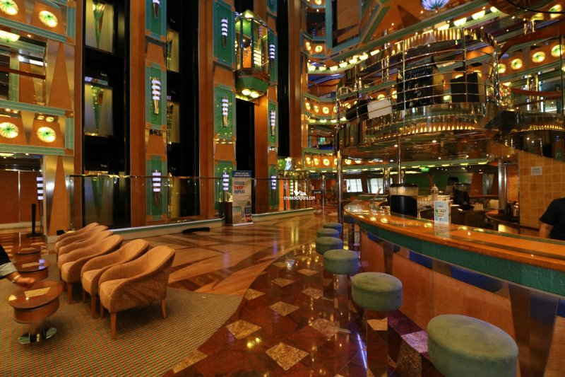 Carnival Magic Magic Atrium Lobby Bar Pictures