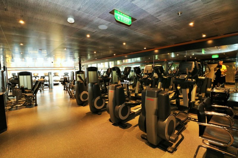 Carnival Magic Fitness Center Pictures