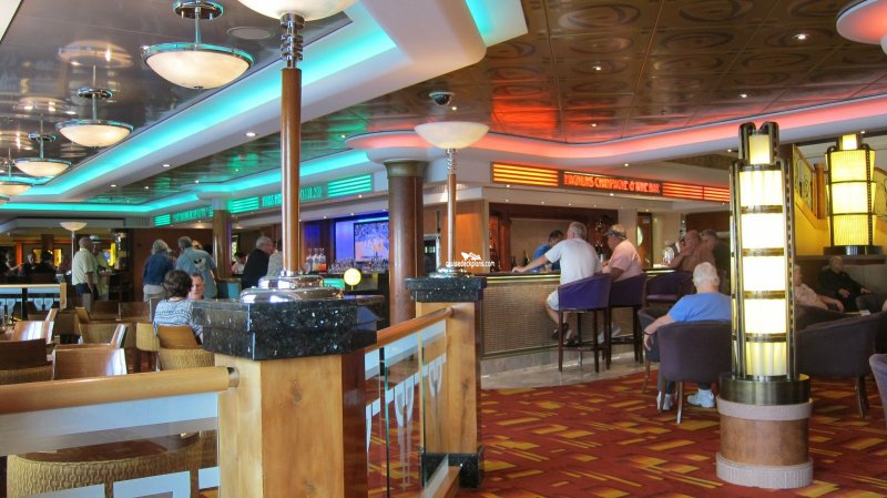 Norwegian Jade Magnums Champagne & Wine Bar Pictures