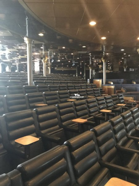 Carnival Ecstasy Blue Sapphire Main Lounge Pictures