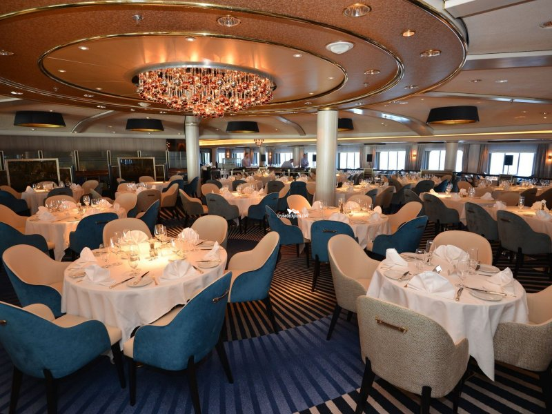Crystal Symphony Dining Room Pictures
