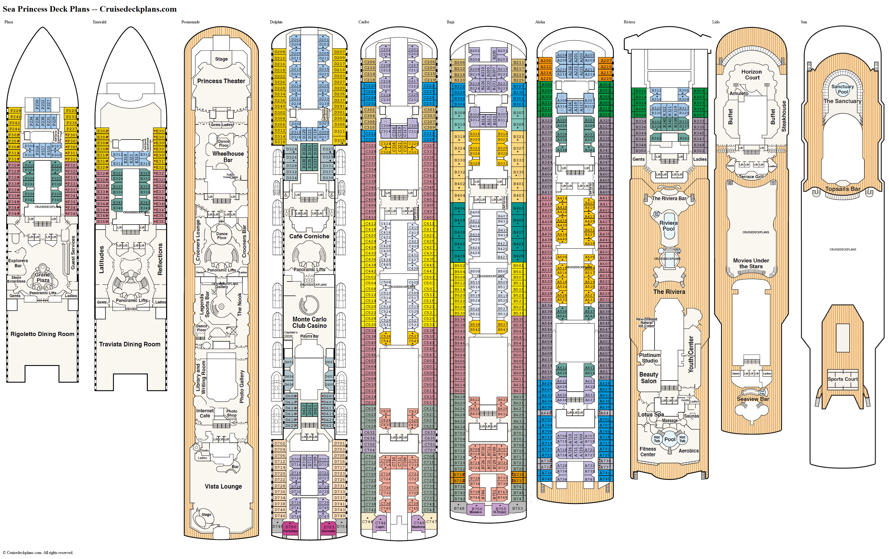Majesty Of The Seas Floor Plan Flooring Ideas And