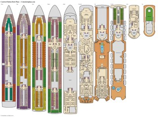 Carnival Elation deck plans