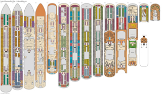 Carnival Panorama Deck Plans Diagrams Pictures Video