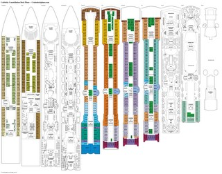 Celebrity Constellation deck plans