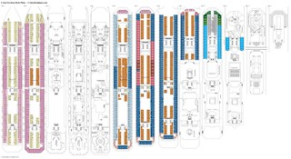 Costa Favolosa deck plans