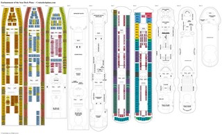 Enchantment of the Seas deck plans