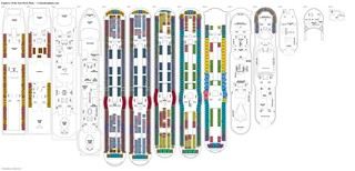 Explorer of the Seas deck plans