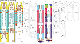 Grandeur of the Seas deck plans