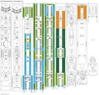 MSC Sinfonia Deck Plans, Diagrams, Pictures, Video