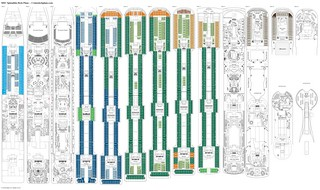 MSC Splendida deck plans