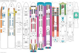 Norwegian Dawn Deck 11 Deck Plan Tour