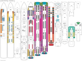Norwegian Jade deck plans