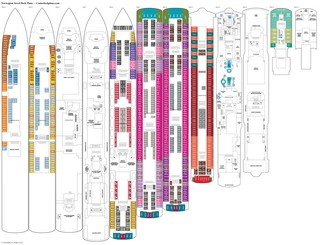 Norwegian Jewel deck plans