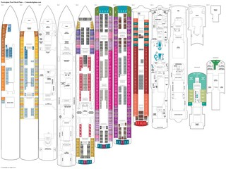 Norwegian Pearl deck plans