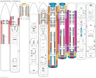 Norwegian Sky Deck Plans Diagrams Pictures Video