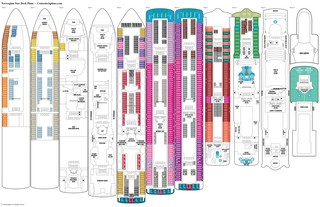 Norwegian Star deck plans