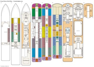 Ocean Princess deck plans