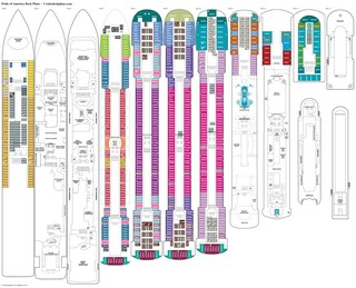 Pride of America deck plans