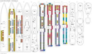 Serenade of the Seas deck plans