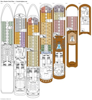 Silver Shadow deck plans