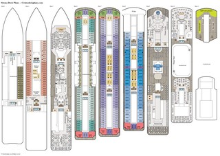 Sirena deck plans