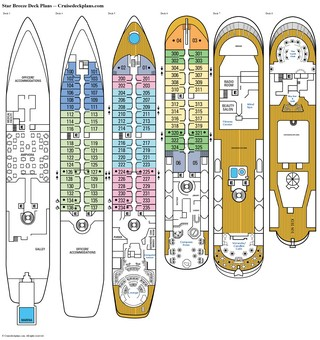 Star Breeze deck plans