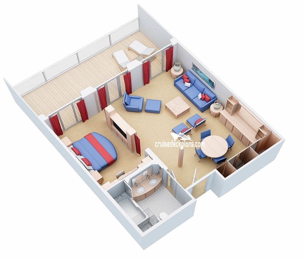 Bedroom Bed Layout