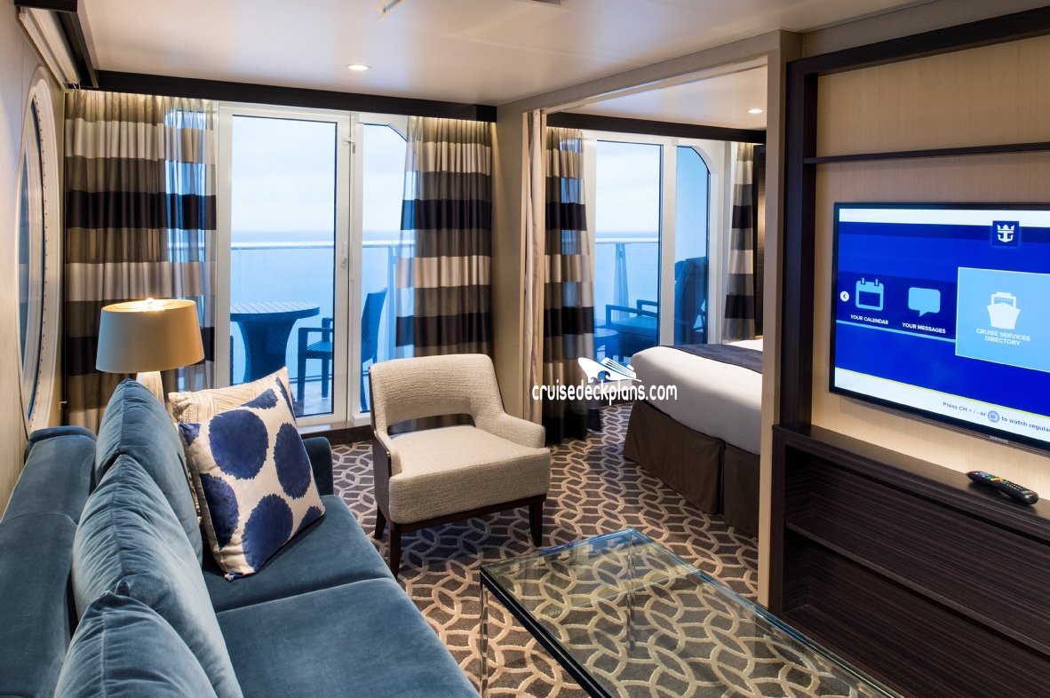 anthem of the seas grand suite  1 bedroom stateroom