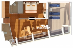 Captains Suite diagram