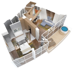 Owner and Grand Loft Suite diagram