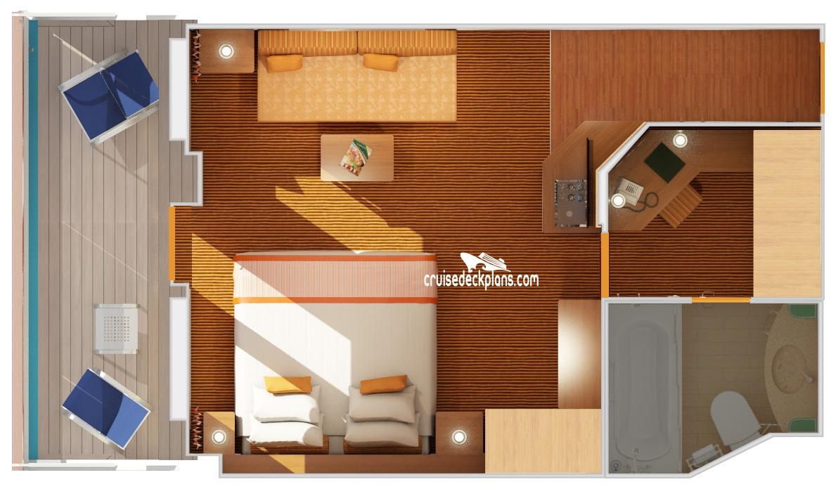 Carnival Victory Ocean Suite Stateroom