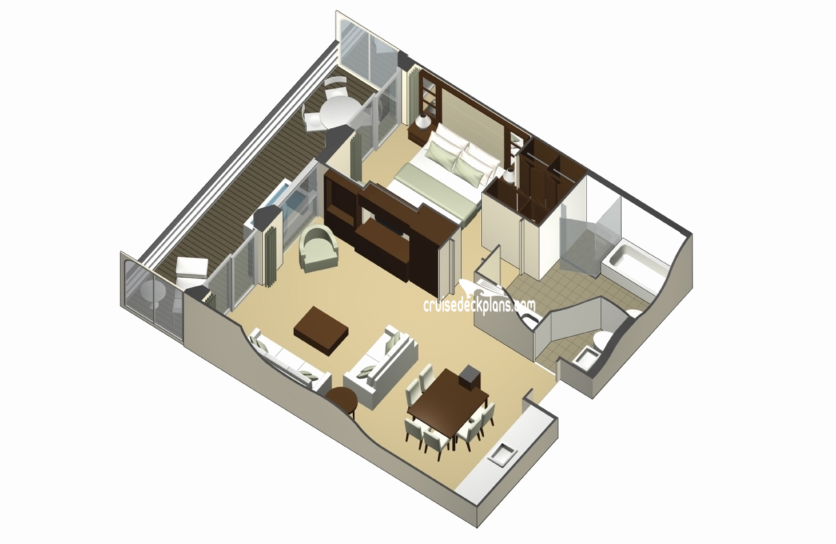 Celebrity Solstice Floor Plan Celebrity Equinox Royal Suite Category