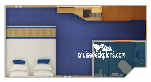 Carnival Victory Interior Diagram Layout