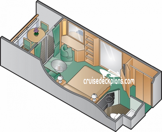 Celebrity Infinity Aqua Class Diagram Layout