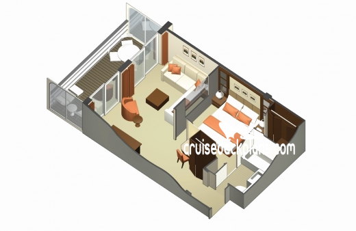 Celebrity Reflection Celebrity Suite Diagram Layout