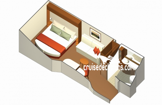 Celebrity Reflection Interior Diagram Layout