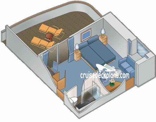 Celebrity Xpedition Royal Suite Diagram Layout