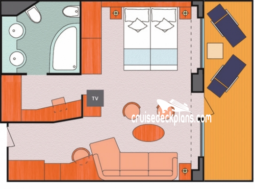 Costa Magica Grand Suite Diagram Layout