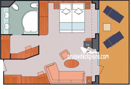 Costa mediterranea deck plans diagrams pictures video for Costa neoriviera wikipedia