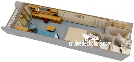 Disney Dream Deck Plans, Diagrams, Pictures, Video on