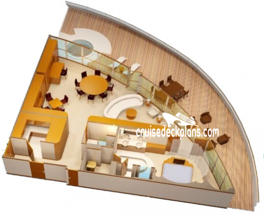 Disney Fantasy Concierge Royal Suite Diagram Layout