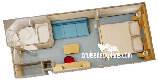 Disney Fantasy Interior Diagram Layout