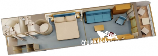Disney Fantasy Family Verandah Diagram Layout