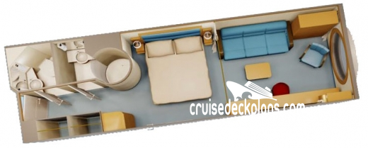 Disney Fantasy Family Oceanview Diagram Layout