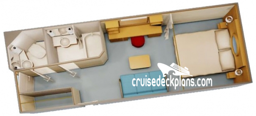 Disney Fantasy Deluxe Interior Diagram Layout
