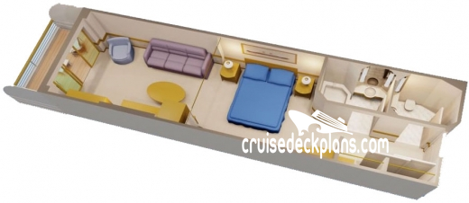 Disney Wonder Family Verandah Stateroom Diagram Layout