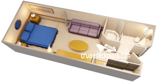 Disney Wonder Interior Diagram Layout