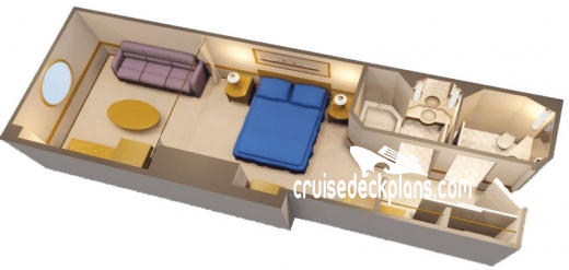 Disney Wonder Oceanview Diagram Layout